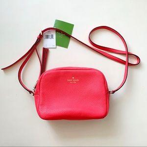 Kate Spade Mindy Grey Street crossbody purse bag
